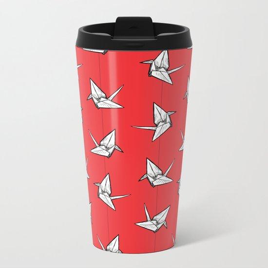 Tsuru Metal Travel Mug