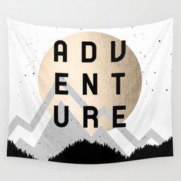 Adventure Golden Sunrise Wall Tapestry