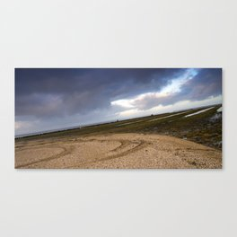 Weating for the water Canvas Print
