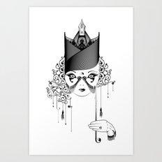 Maskjesty Art Print