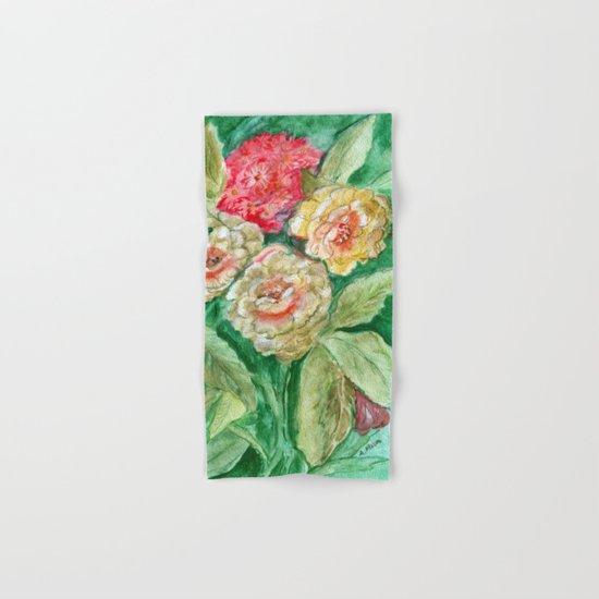 Floral Fusion Hand & Bath Towel