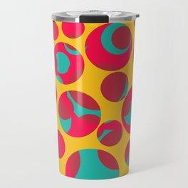 Psychedelic cheese Travel Mug