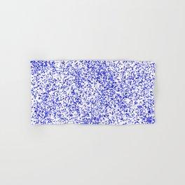 Blue Specks Hand & Bath Towel