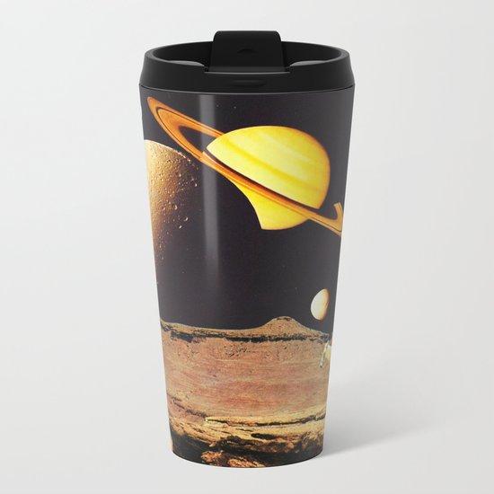 Western Space Metal Travel Mug