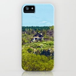 House on the island iPhone Case
