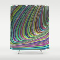 illusion Shower Curtains featuring Illusion by David Zydd