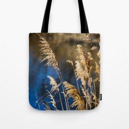 Reeds in Camargue Tote Bag