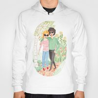 grantaire Hoodies featuring Walk in the Park by foxflowers