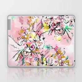 FLORAL ARROW Laptop & iPad Skin