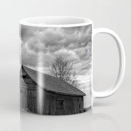 Finland Farm (Black and White) Coffee Mug