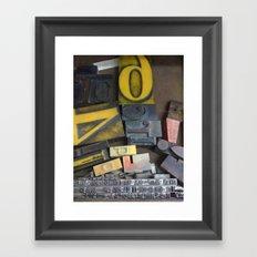 otis. Framed Art Print