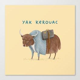 Yak Kerouac Canvas Print