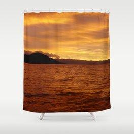 Lost in the Fiji Sun Shower Curtain