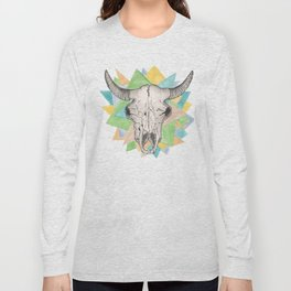 Geo Skull Long Sleeve T-shirt