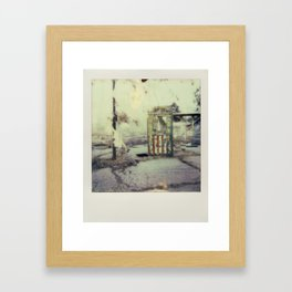 Abandoned Amusement Park 01 Framed Art Print