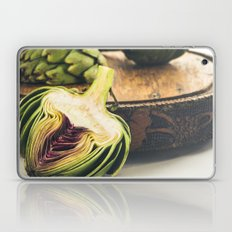 Artichokes On Old Cutting Board Laptop & iPad Skin