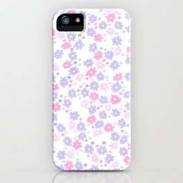 Flora (Lilac) iPhone Case