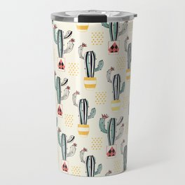 Cactus in a Pot small-scale Travel Mug