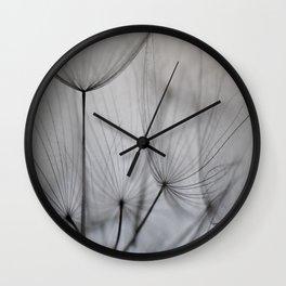 Nature's Geometry Wall Clock