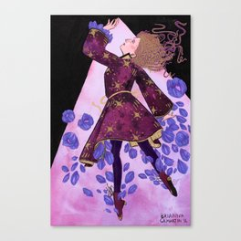 Flower Witch Canvas Print