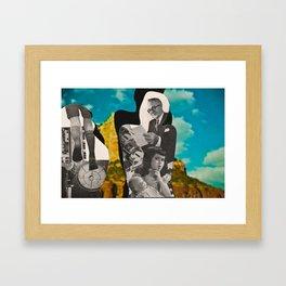 Silence: Silhouette Series #4 Framed Art Print