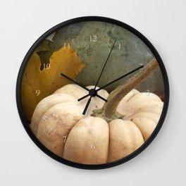 pumpkin lovin' Wall Clock