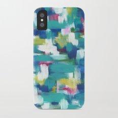 Earth iPhone X Slim Case