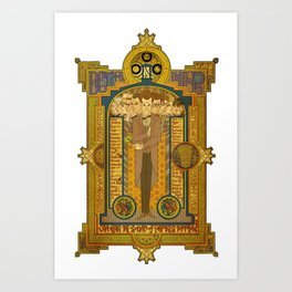Doctor Who - Legend of the Doctor Art Print