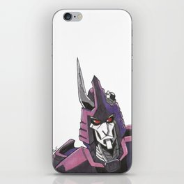 """Not A Decepticon"" - Cyclonus iPhone Skin"
