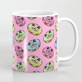 Sweet Donuts Pattern, Pink Coffee Mug
