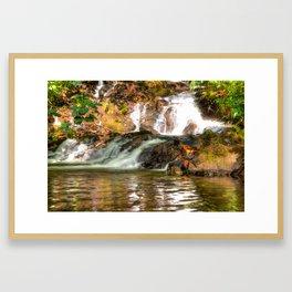Stream Framed Art Print
