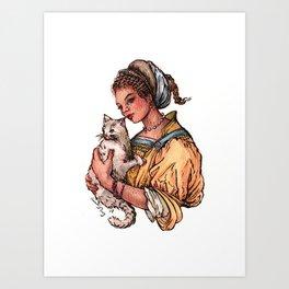 Secret Keeper Art Print