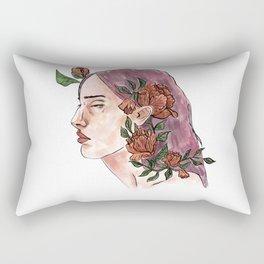 Flower Girl Rectangular Pillow