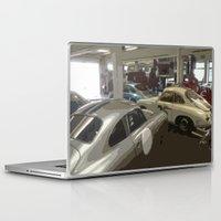 porsche Laptop & iPad Skins featuring Porsche Garage by Premium