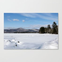 Cleawater Lake in Western Maine Canvas Print