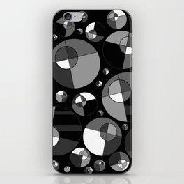 Bubble Grey 11 iPhone Skin