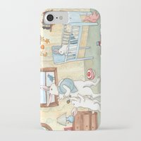 nursery iPhone & iPod Cases featuring Nursery by Bluedogrose