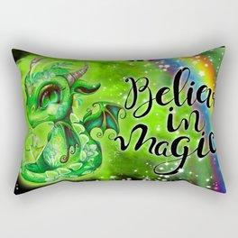 Lil DragonZ - Elements Series - Earth Rectangular Pillow