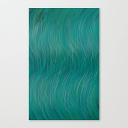 Wavy Breh Canvas Print