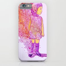 Flame doodle iPhone 6s Slim Case