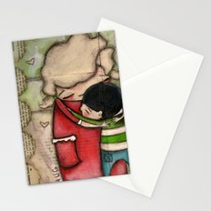 Hug - by Diane Duda Stationery Cards
