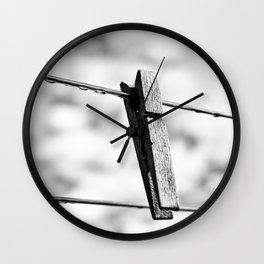 No Laundry Today Wall Clock