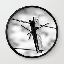 No Laundry Today Wall Clock