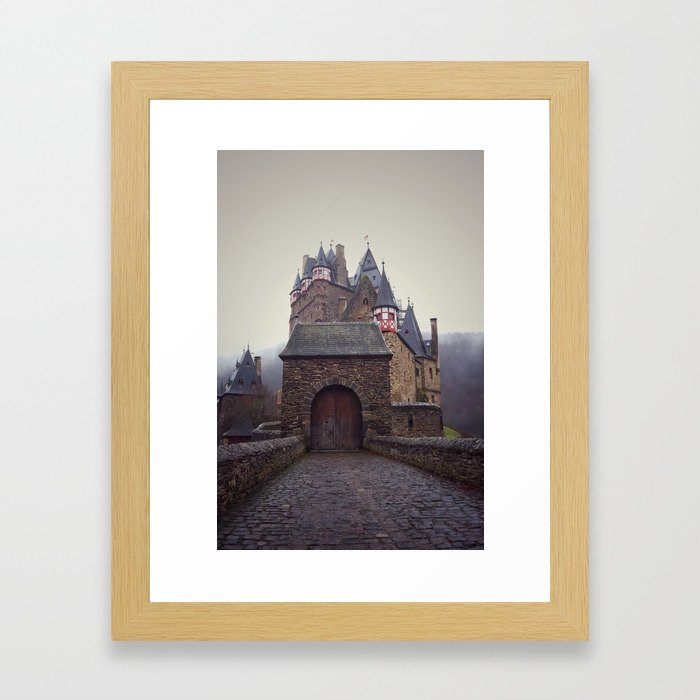 Germany, Burg Eltz Castle Framed Art Print
