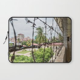 S21 Building C View - Khmer Rouge, Cambodia Laptop Sleeve