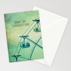High On Summertime Stationery Cards