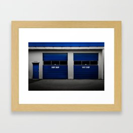 BodyShop Framed Art Print