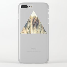 Feather Dip Clear iPhone Case