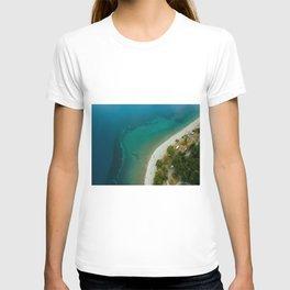 Lake Hawea lake wakatipo blue crystal clear T-shirt