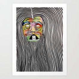 Wizard Killer Art Print
